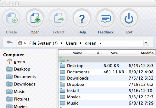 B1 Free Archiver for Mac