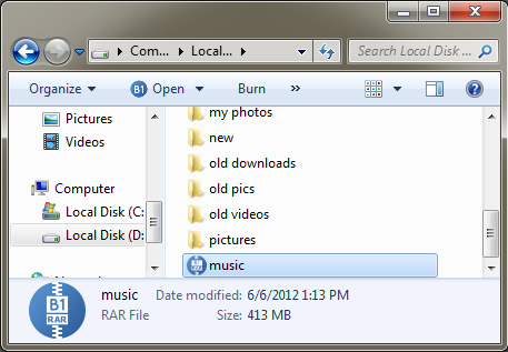 How to extract one file from rar archive?